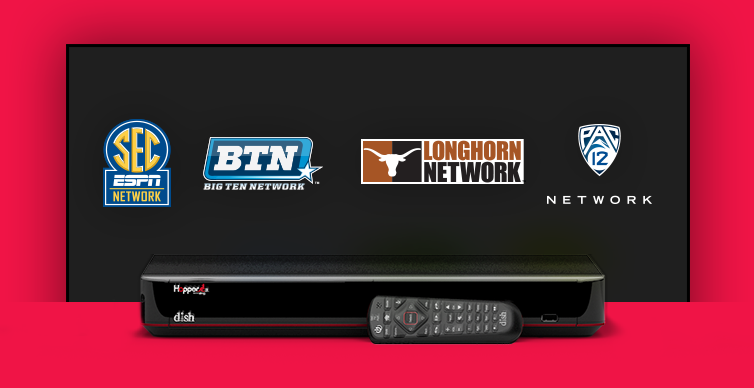 DISH College Sports TV Packages - Lawrence, Kansas - Blue Sky Satellite - DISH Authorized Retailer